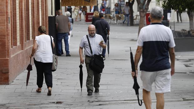 El tiempo provocará que en algunas ciudades se tenga que sacar el paraguas