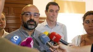 José García Molina es el secretario general de Podemos en Castilla-La Mancha