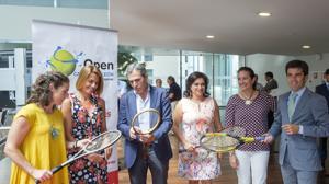 Presentación del XXXII Open Castilla y León de Tenis Villa de El Espinar