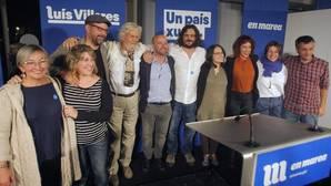 Dirigentes del partido durante la campaña de las autonómicas