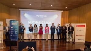 Ponentes del evento Impulsando Pymes, celebrado en el Museo de la Ciencia de Valladolid