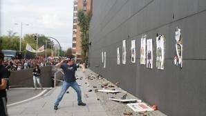 'Tiro al fatxa' que tuvo lugar en Pamplona en 2015