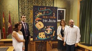 Presentación del cartel de las Fiestas de San Julian 2017 en el Ayuntamiento de Cuenca