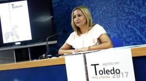 Maria Teresa Puig Cabello esta mañana en la rueda de prensa