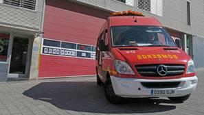 Imagen de archivo de bomberos de Alicante