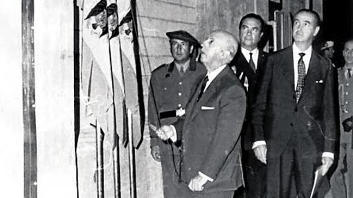 Francisco Franco inauguró la central de Garoña en el año 71