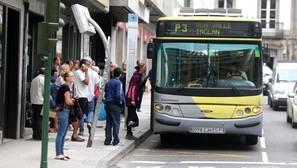 Autobús urbano en Santiago