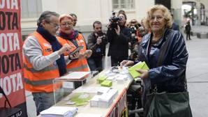 Carmena y sus consultas populares: presume de un 75,8% de apoyo, aunque solo movilizó al 8%
