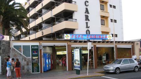 El primer Pepe Chiringo que se abrio en Playa del Inglés