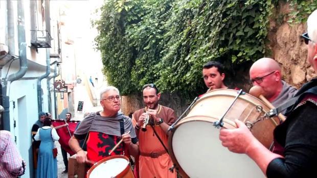 El grupo de folk Tiruraina acompañará con su música el arranque de la Feria y Fiestas en Cuenca