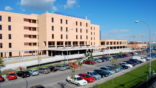 Fachada del Hospital Nuestra Señora del Prado