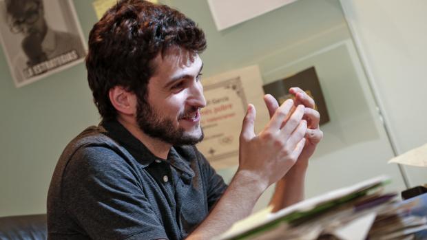 El secretario general de Podemos en la Comunidad Valenciana, Antonio Estañ