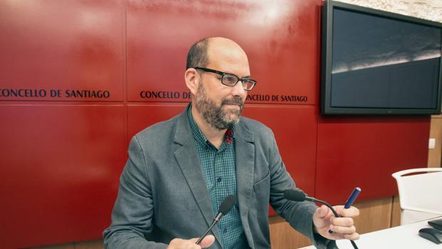 El alcalde de Santiago, Martiño Noriega, en una imagen de archivo