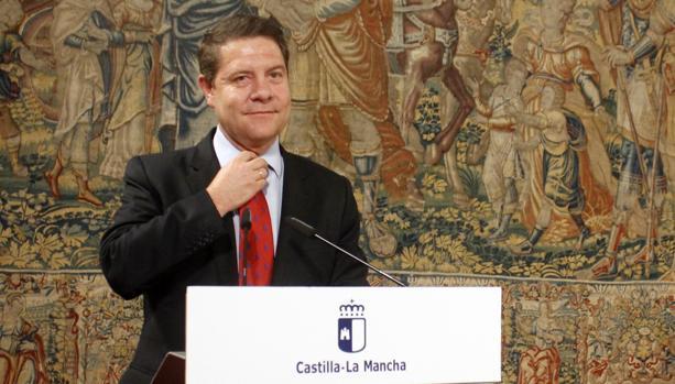 Page, en una reciente intervención en el Palacio de Fuensalida de Toledo