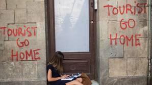 Protestas en Barcelona contra el turismo
