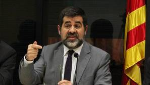 Jordi Sanchez, presidente de la Asamblea Nacional Catalana