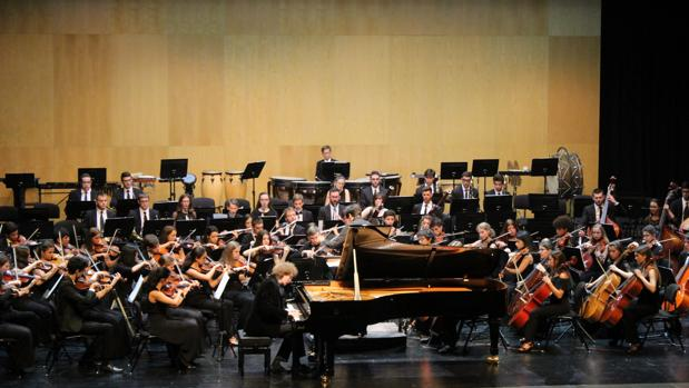 Imagen captada durante unos de los conciertos del festival