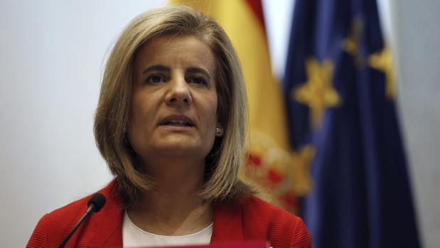 Imagen de archivo de Fátima Báñez, Ministra de Empleo y Seguridad Social