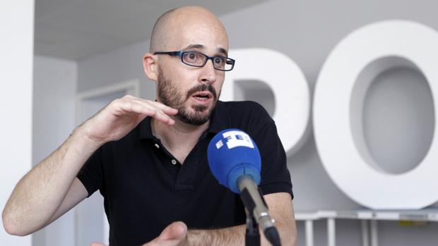 Nacho Álvarez, responsable de Economía de Podemos