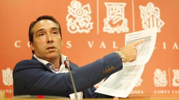 Imagen de archivo de Rubén Ibáñez, portavoz de Economía del PP en las Cortes