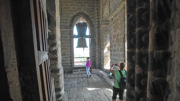 La visita incluye el entresuelo de las bóvedas de la Catedral y el campanario