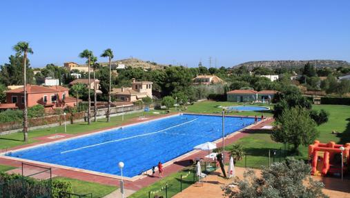 Piscina del Club de Campo de Alicante