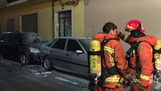 Imagen de archivo de una unidad del Consorcio de Bomberos de Alicante