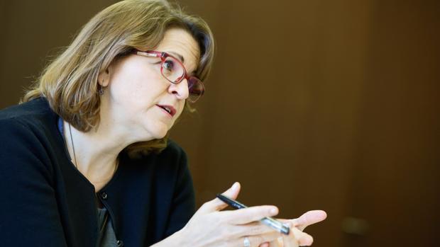 Imagen de archivo de la consellera de Agricultura, Elena Cebrián