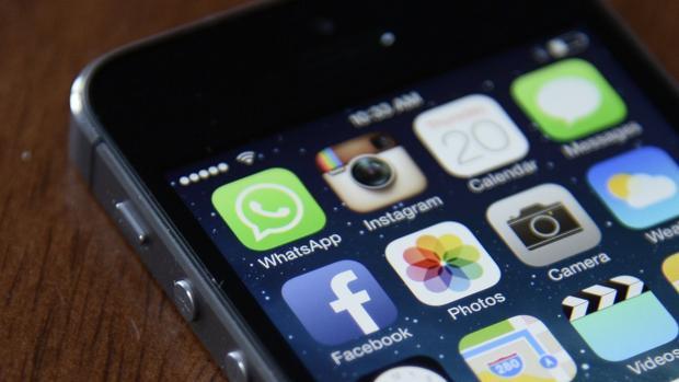 Imagen de archivo de un smartphone