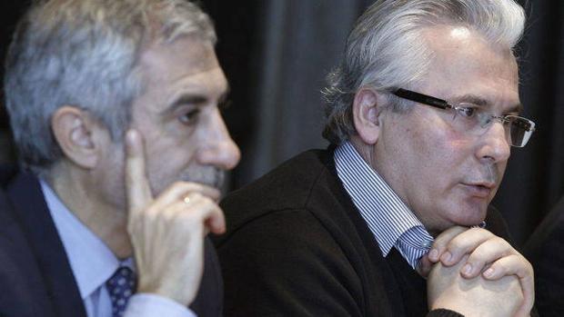 Imagen de archivo de Llamazares y Batasar Garzón