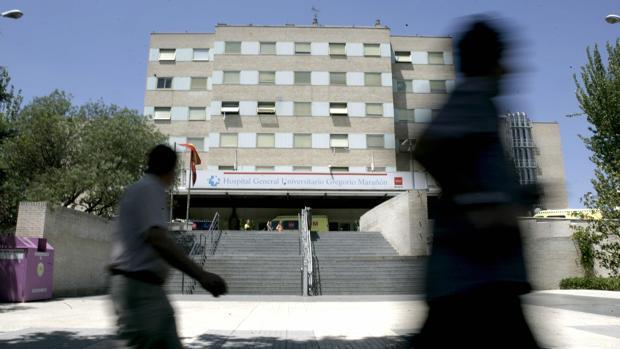 Entrada del hospital Gregorio Marañón