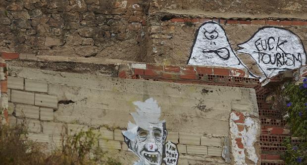 Protestas contra el turismo en Barcelona orquestadas por los independentistas radicales