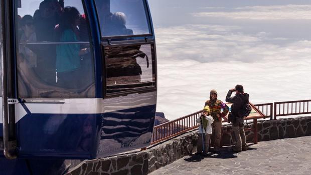 El teleférico del Teide, Tenerife, vuelve a funcionar