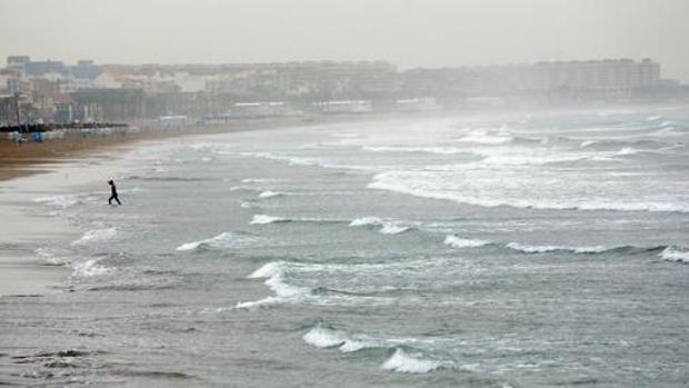 Imagen de archivo del tiempo en el litoral valenciano
