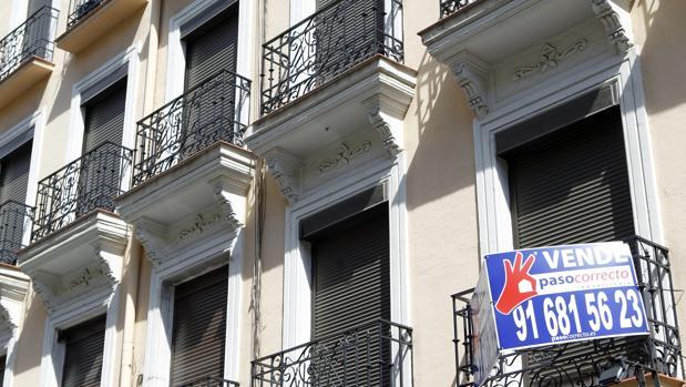 Un piso en venta en Madrid