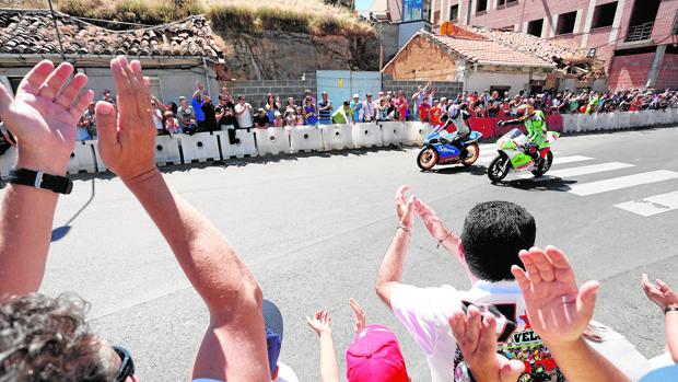 Imagen de una edición anterior de la carrera urbana de motociclismo