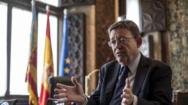 Imagen de archivo del presidente de la Generalitat Valenciana, Ximo Puig