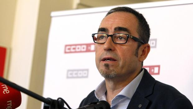 Paco de la Rosa, secretario general de CCOO Castilla-La Mancha