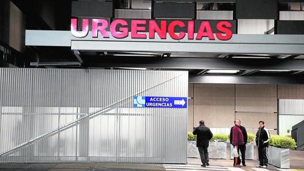 Imagen de archivo de la entrada del Hospital Clínico