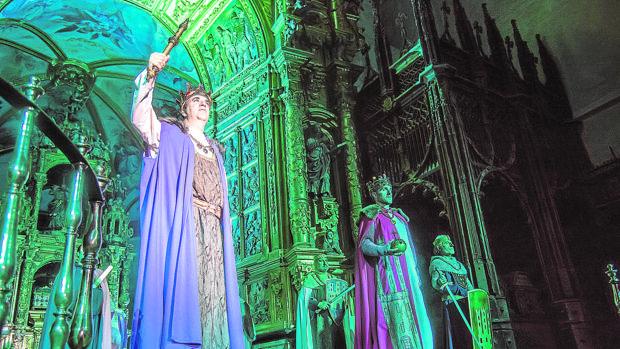 Imagen de una representación de Cronicón