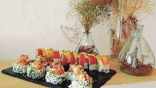 Uno de los platos principales del restaurante Art & Sushi