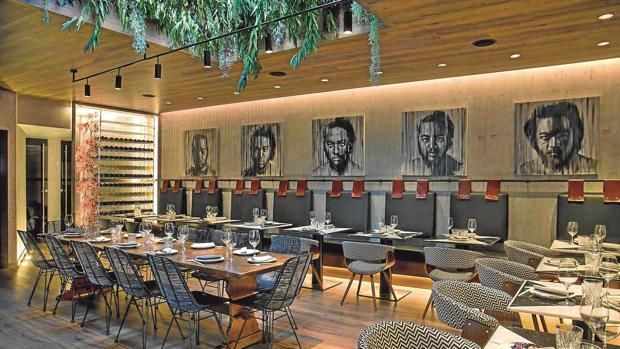 Interior del restaurante Chow Chow en Madrid