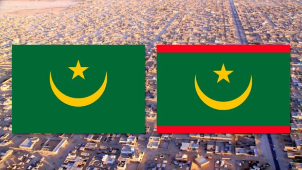 Mauritania cambia de bandera