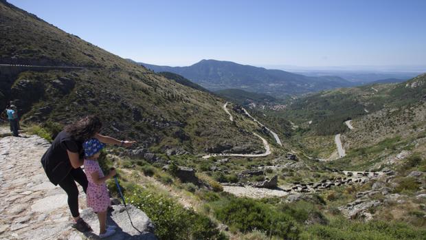 Puerto El Pico, en Ávila