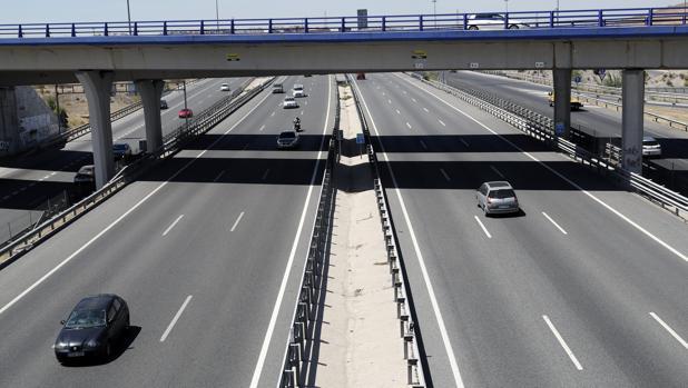 Imagen de este de la carretera A-3 en sentido Valencia