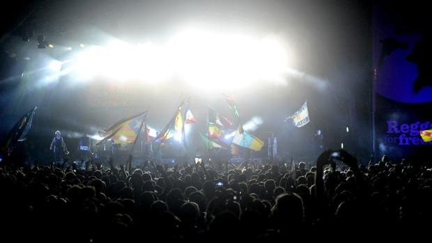 Imagen de uno de los escenarios del festival en Benicàssim