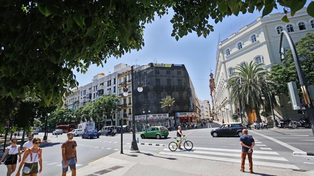 Imagen de archivo del centro de Valencia