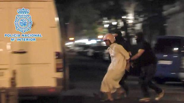 Imagen de una detención