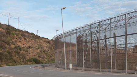 La valla de Ceuta