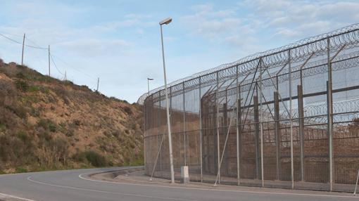 Imagen de la valla de Ceuta